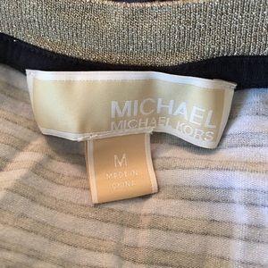Michael Kors Tops - [Michael Kors] Stripe Cap Sleeve Tee
